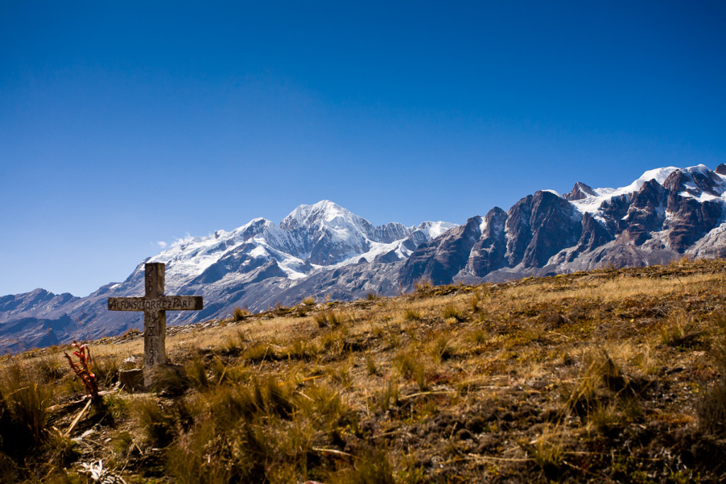 Mt. Illampu in the Cordillera Real, Bolivia