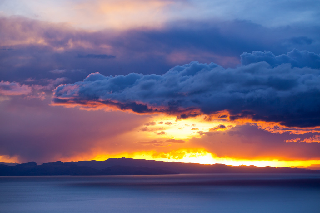 The Bolivian side of Lake Titicaca provides stunning backdrops t