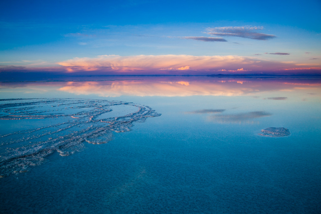 The Salar de Uyuni in flood creates the perfect conditions for m