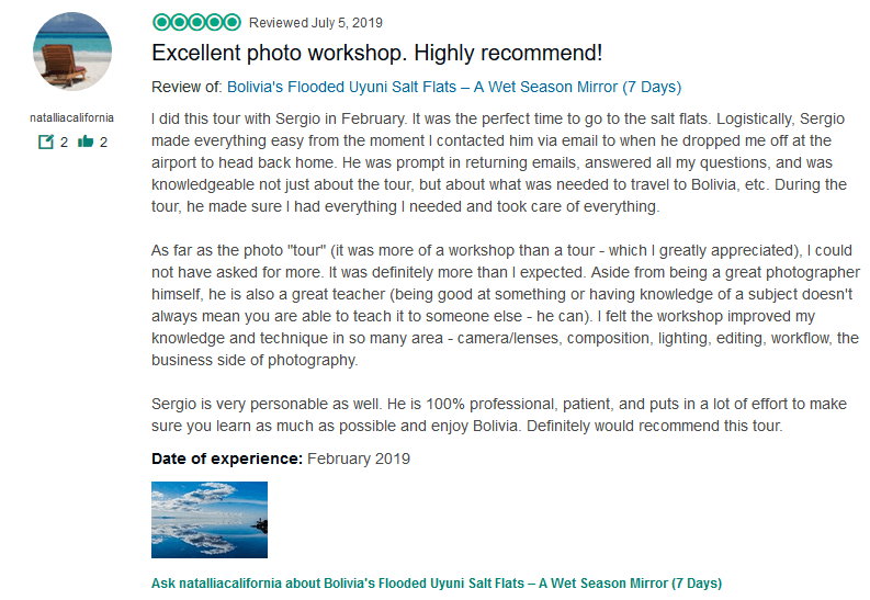Photo tours tripadvisor review 2